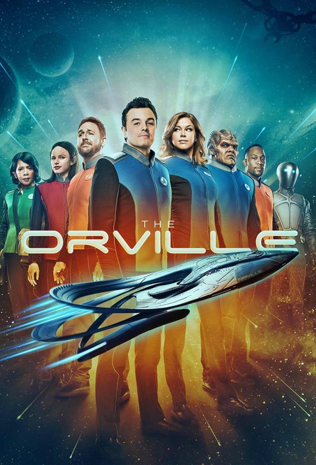 Affiche officielle de la série TV The Orville