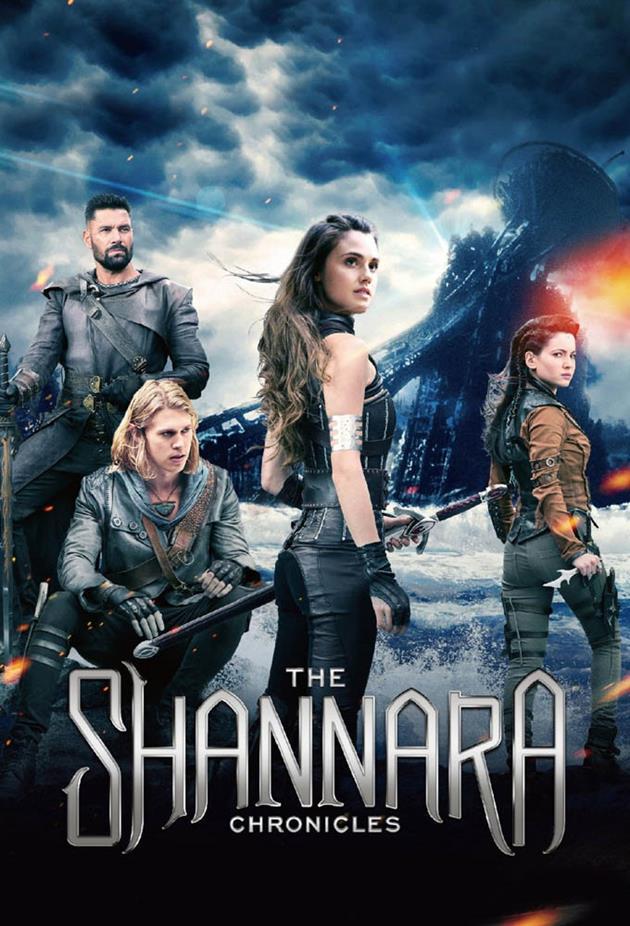 Affiche Chroniques de Shannara - Fond détruit