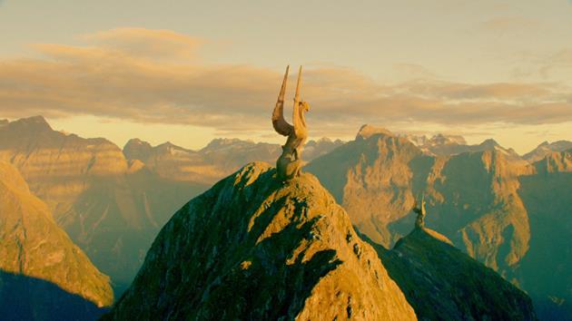 Au sommet des montagnes