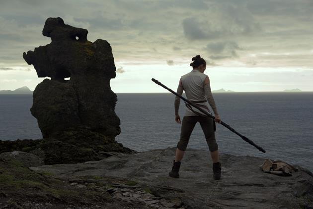 L'entraînerment de la dernière Jedi ?