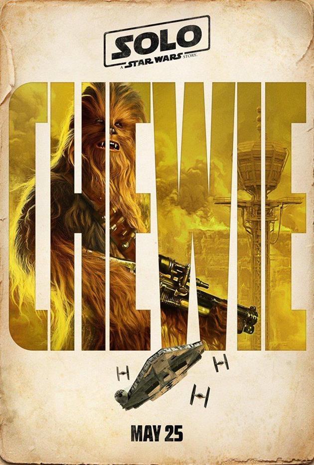 Affiche personnage : Chewie