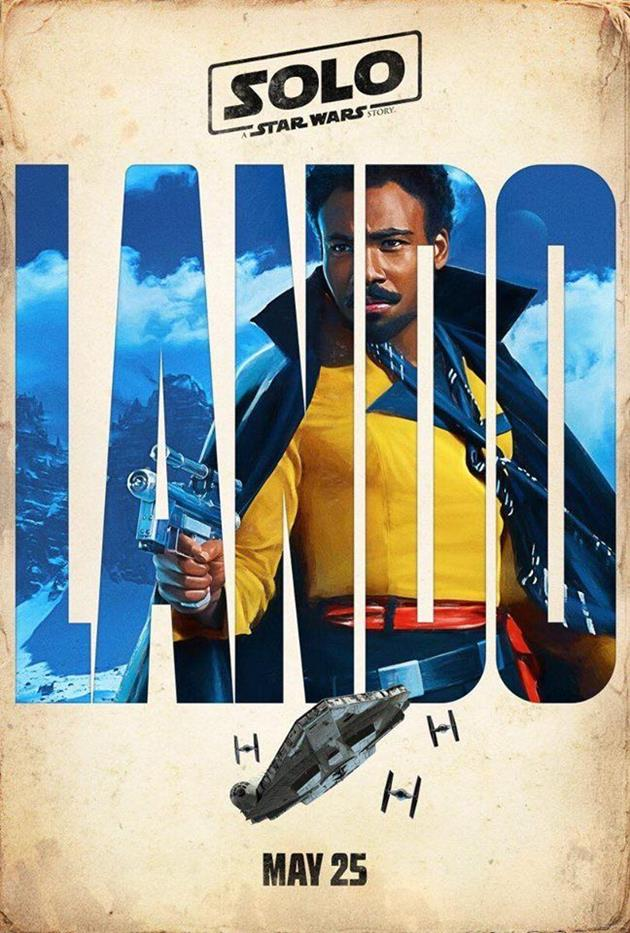 Affiche personnage : Lando