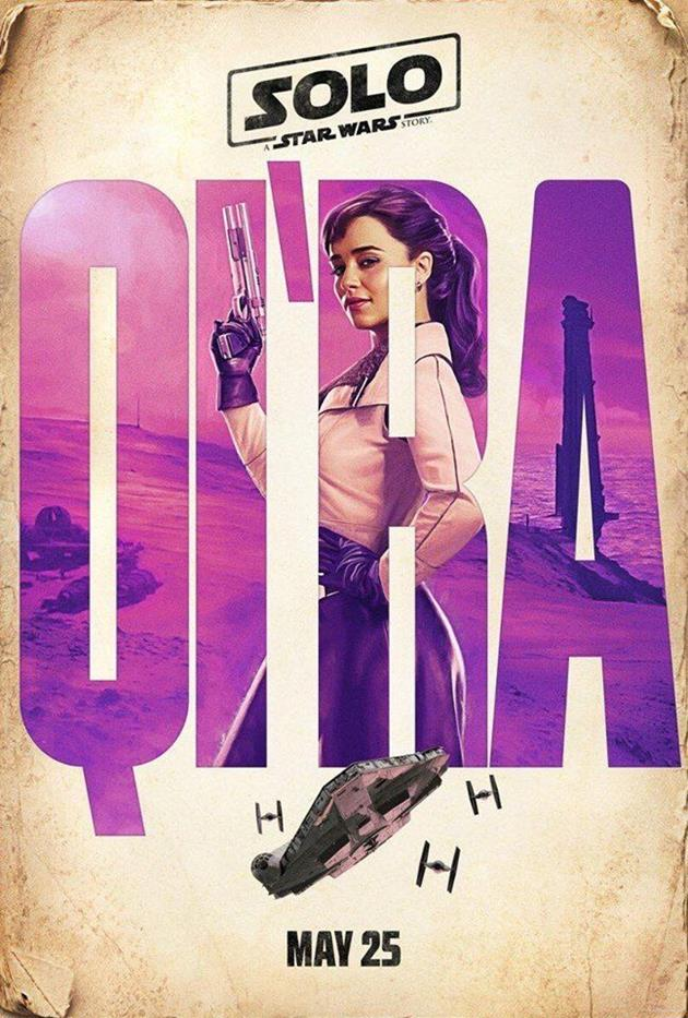 Affiche personnage : Qi'ra