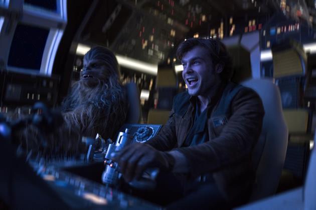 Han et Chewie dans leur élément