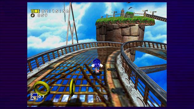 Le premier grand Sonic 3D