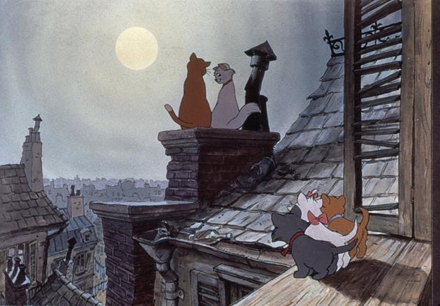 Sérénade sur les toits de Paris