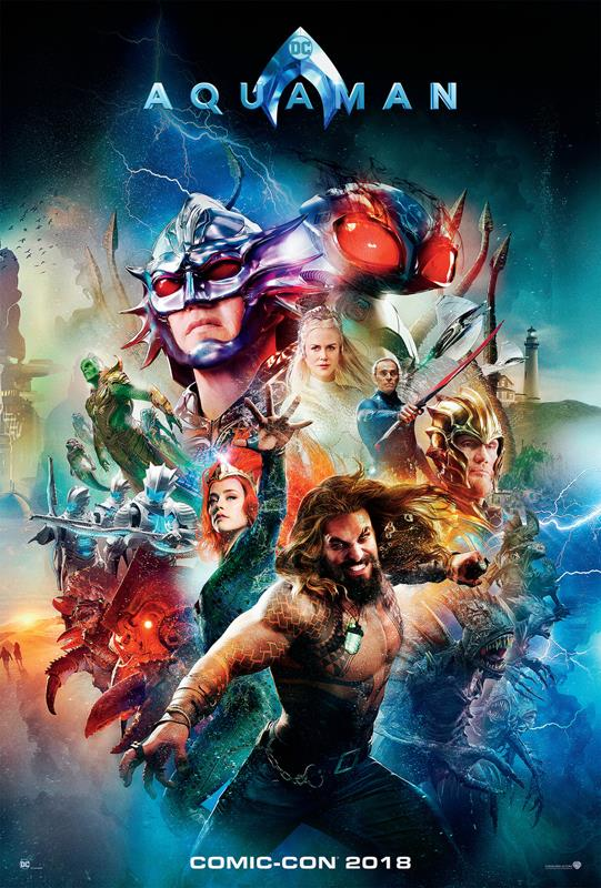 Affiche Aquaman Comic-Con 2018