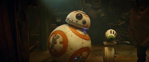 BB-8 et son nouveau copain D-O