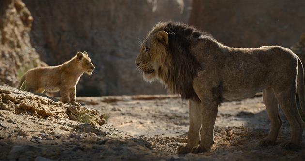 Simba et Scar