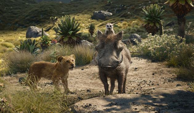 Simbar, Timon et Pumbaa