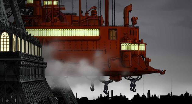 Un téléphérique géant à vapeur