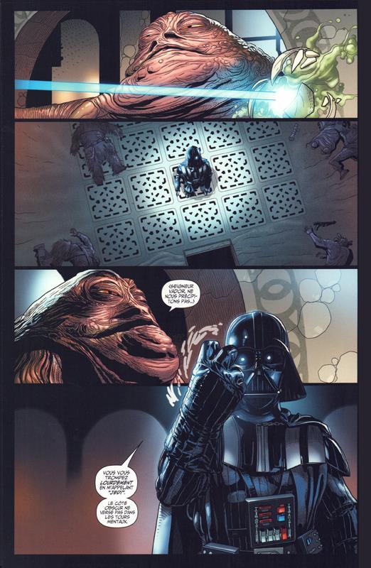 Vador vs. Jabba