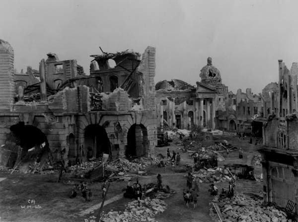 Normal-Ville en ruines