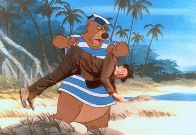 Baloo fait le ménage