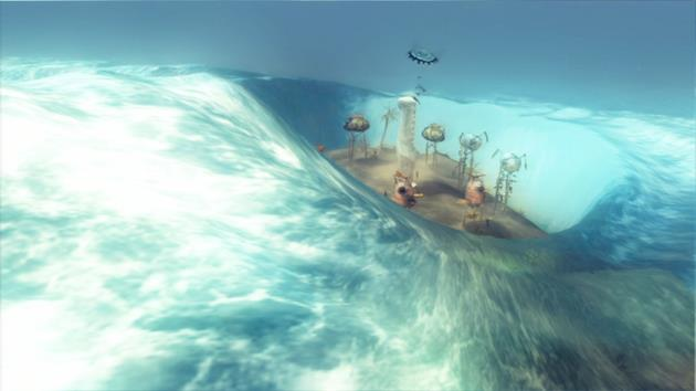 Tsunami en approche