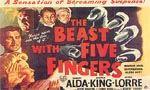 Voir la fiche La bête aux cinq doigts [1946]