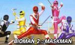 Voir la fiche Bioman 2 : Maskman [1987]