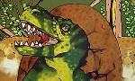 Voir la critique de Dino Business : Scientifiques fous cherchent ADN de beaux bébés dinosaures…