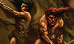 Voir la fiche Le Cycle des épées : Fafhrd and the Gray Mouser : Epées et mort [tome 2 - 1985]