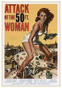L'attaque de la femme de 50 pieds [1958]