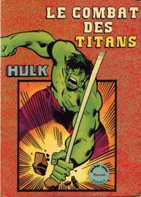 Pocket Color Marvel Aredit Hulk [1982]