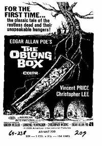 Le cercueil vivant [1969]