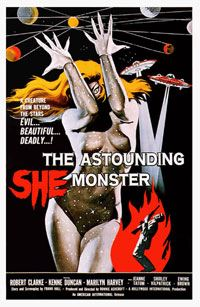 The Astounding She-Monster [1957]