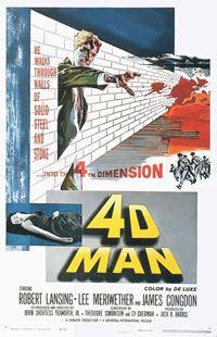 4D Man : L'Homme en 4 dimensions [1959]