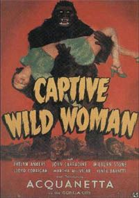 Captive Wild Woman [1946]