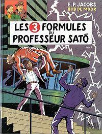 Les aventures de Blake et Mortimer : Blake et Mortimer : Les 3 formules du professeur Sato - 2 [#12 - 1996]
