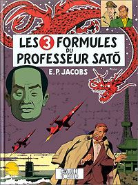 Les aventures de Blake et Mortimer : Blake et Mortimer : Les 3 formules du professeur Sato - 1 #11 [1996]