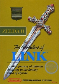 Zelda 2 : The Adventure of Link - Console Virtuelle