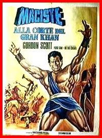 Maciste : Le Géant a la cour de Kublai Khan [1961]