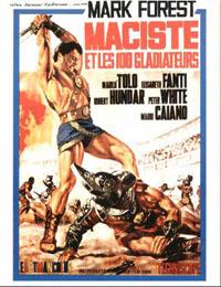 Maciste et les 100 gladiateurs [1964]
