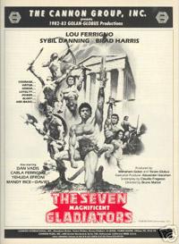 Les Sept gladiateurs [1984]