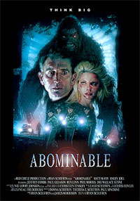 Le Redoutable Homme Des Neiges : Abominable