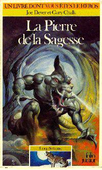 Loup Solitaire / Magnamund : Loup solitaire : La Pierre de la Sagesse [#6 - 1986]