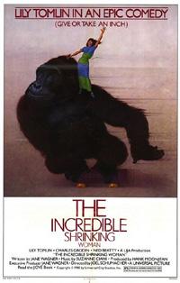 L'homme qui rétrécit : The Incredible Shrinking Woman [1982]