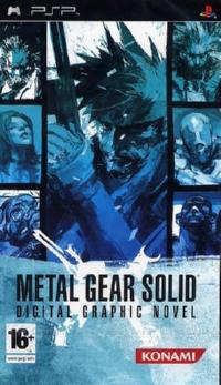 Metal Gear Solid Digital Graphic Novel - PSP