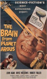 Le cerveau de la planète Arous [1958]