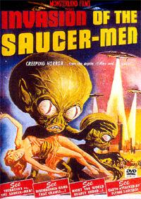Invasion extraterrestre affiche