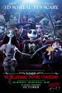 L'étrange noël de Monsieur Jack  - version 3D [2007]