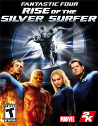 Fantastic four : Rise of the silver Surfer - PSP