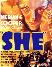 Elle / Ayesha : La Source de feu [1936]