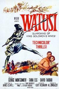 Allan Quatermain : Watusi [1960]