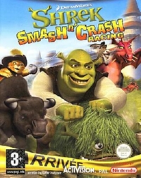 Shrek Smash'N'Crash Racing - PSP