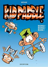 Kid Paddle : Boing ! Boing ! Bunk ! #9 [2004]