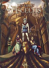 Les Exilés d'Asceltis : Le Messager Blanc [#1 - 2007]