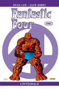 4 fantastiques : Les Quatres fantastiques : Intégrale 1966 #5 [2007]