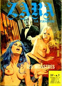 Zara la vampire : Les Monstres #7 [1976]
